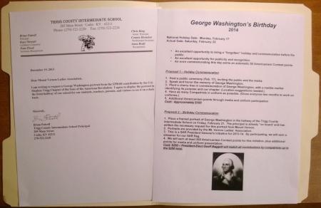 GW Portrait Letter