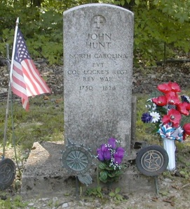 John Hunt Tombstone