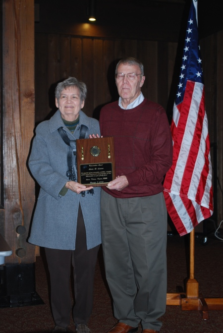 James and Marjorie Sumner Receives the Kentucky State DAR Conservation Award