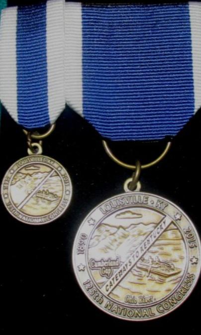 2015 SAR National Congress Medal