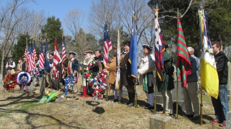 Grave Marking Color Guard