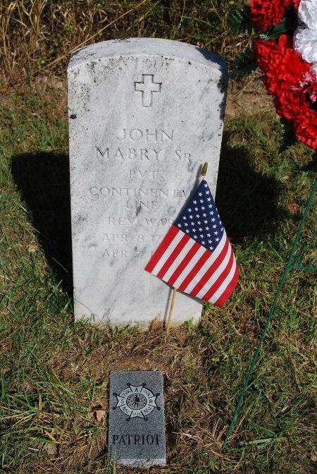 John Mabry, Sr. Grave