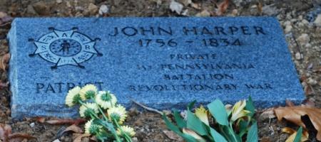John Harper Tombstone