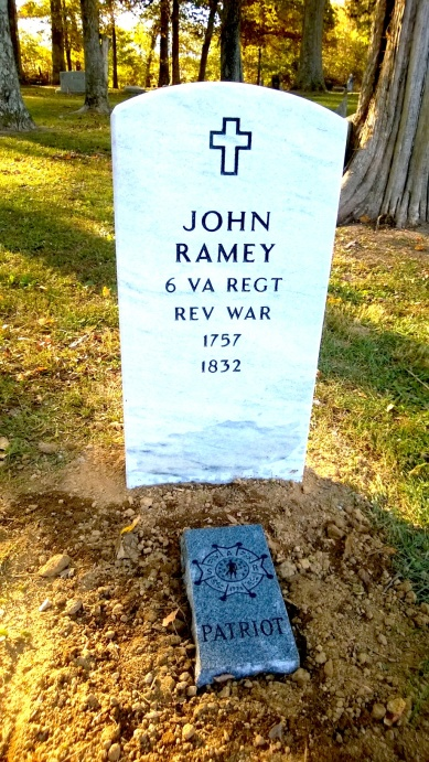 John Ramey Headstone