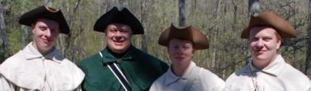 Dallas, Travis, Connor, and Ryan McCloud