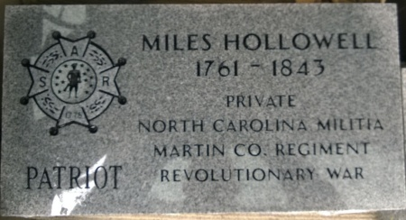 Hollowell Marker Stone