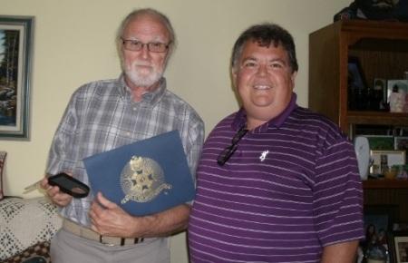 Veteran Bruce W. Grace and Compatriot Dennis Adams