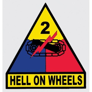 Decal-2nd-Armored-Division-Hell-on-Wheels-3.25x3.5in