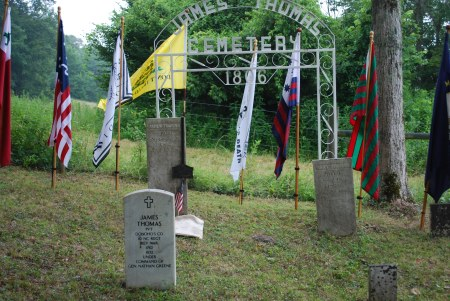 The James Thomas Grave Site