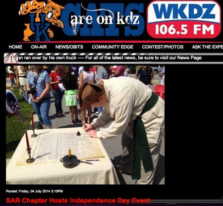 WKDZ Radio Link