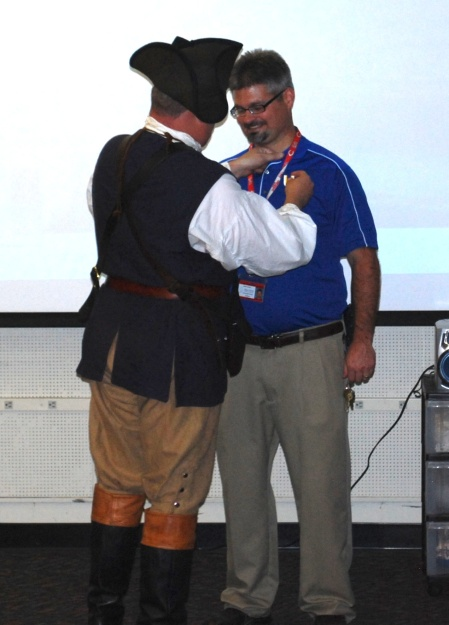 Principal Brian Futrell Receives the Bronze Good Citizenship Medal