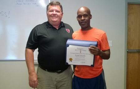 Dr. Dennis Adams and U.S. Army Veteran Todd Smith