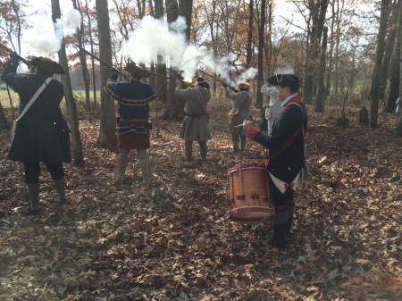 Steve Firing in the Black Powder Salute