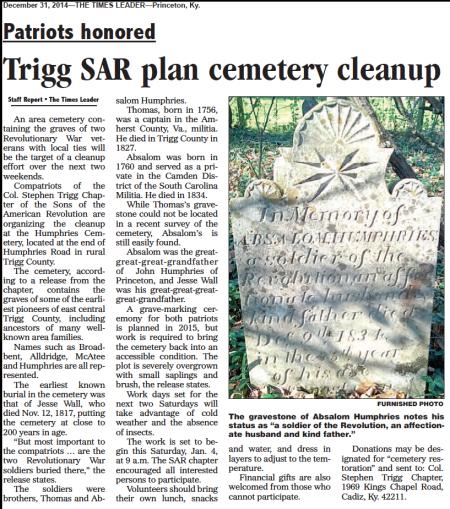 Cemetery Story