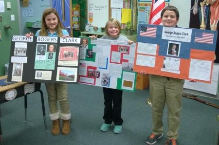 Winners Elle Heltsley, Emma Harris, and Ryan Riggs