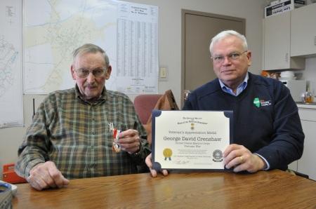 Mr. George David Crenshaw and John Humphries