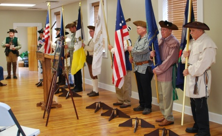 The Col. Stephen Trigg Chapter Color Guard