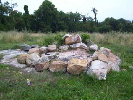 Grave of David and Nannie Abbott Johnston