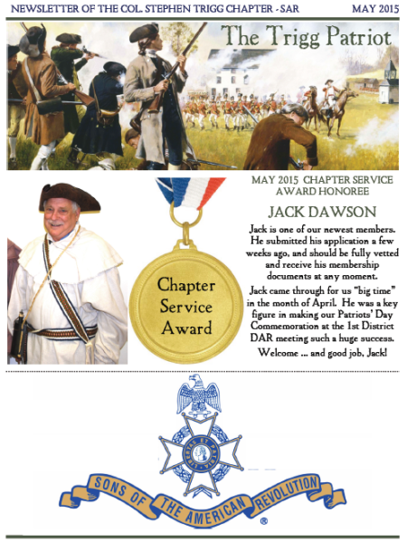 May 2015 Cover