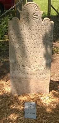 Absalom Humphries' Restored Stone