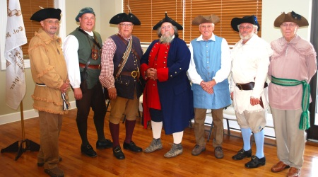Compatriots Dilly Anderson, Geoff Baggett, Steve Mallory, Robert Ward, Billy Redd, Glenn Greenfield, and James Sumner