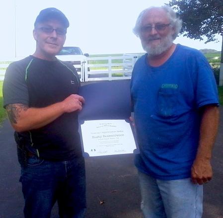 Veteran Rusty Rosencrance and Compatriot Glenn Greenfield