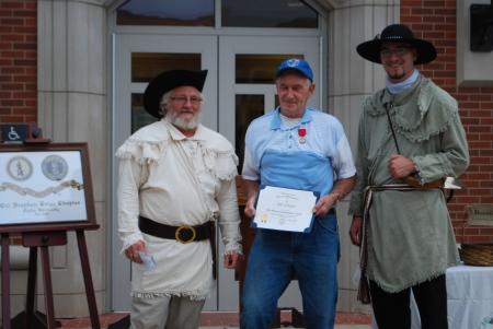 Bill Schafer Receives His Medal